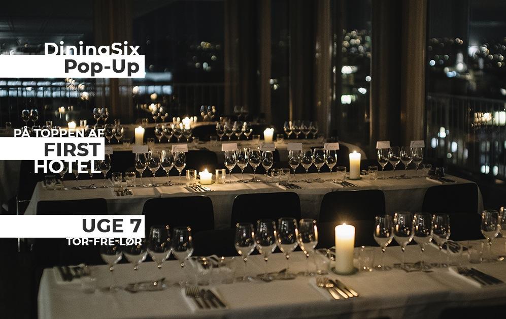 Uge 7: DiningSix Pop-Up på toppen af Aarhus